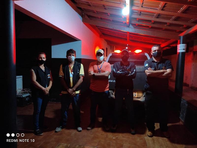 Polícia Civil encerra festa clandestina para 150 pessoas em Formoso do Araguaia