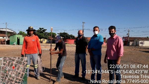 Prefeitura de Nova Rosalândia autoriza construção de feira coberta