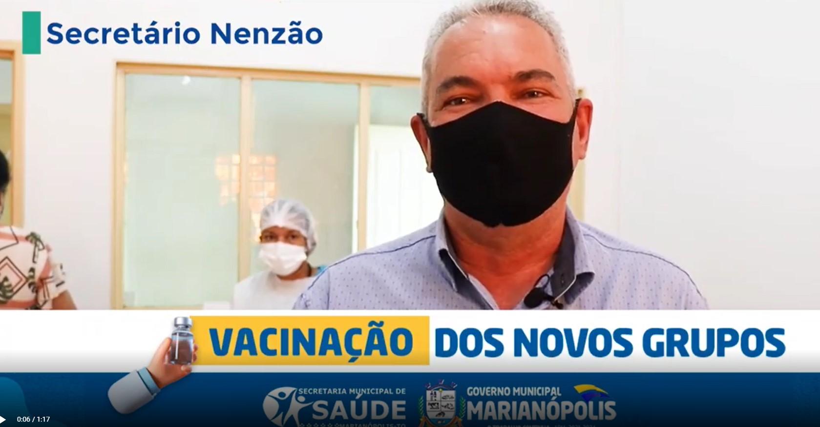 Saúde de Marianópolis amplia vacinação contra a Covid-19 para novos grupos