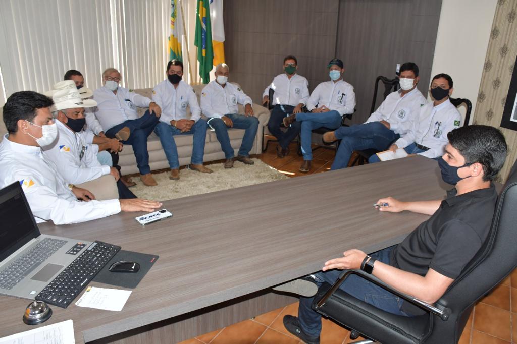 Diretoria do Sindicato Rural de Paraíso retoma atividades, reúne com prefeito e define planejamento