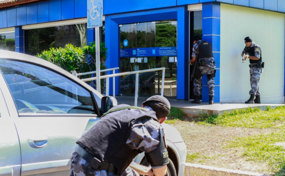 Polícia Militar realiza Simulação de Ataques a Bases de depósitos de valores em Palmas nesta quarta-feira
