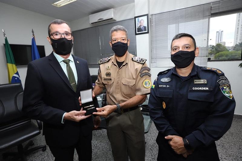 PMTO recebe visita técnica do Secretário de Segurança Pública de Rondônia