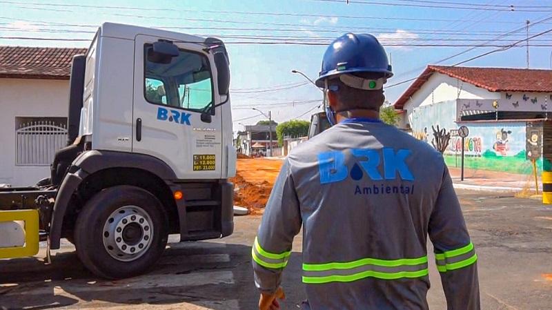 BRK Ambiental avança com obras de esgoto no Setor Sul em Colinas do Tocantins