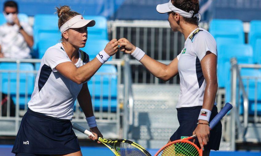 Tóquio: Stefani e Pigossi vencem EUA de virada e avançam às semifinais