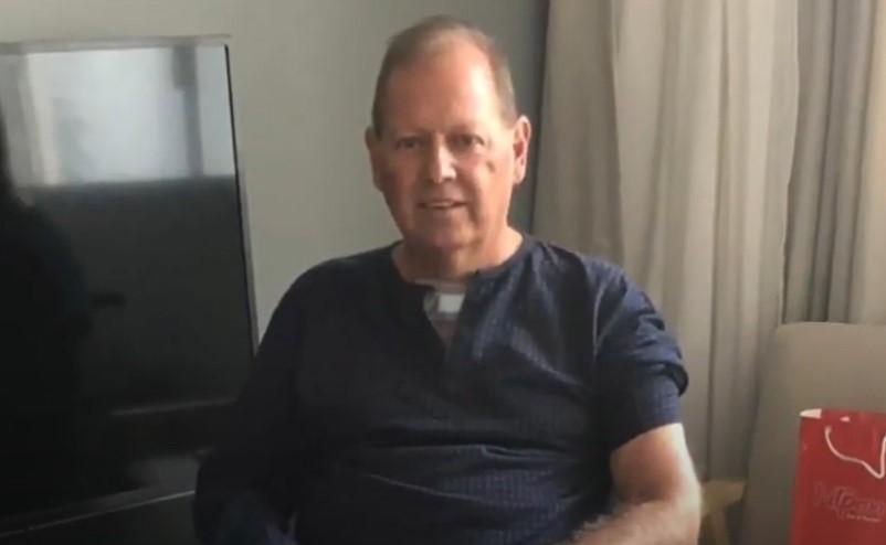 Recuperado da Covid após 73 dias hospitalizado, agropecuarista de Paraíso divulga vídeo de agradecimento