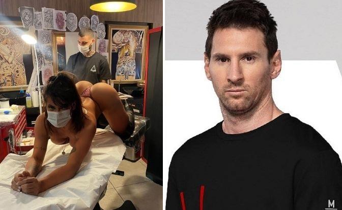 Suzi Cortez faz tatuagem anal em homenagem a Messi e manda recado