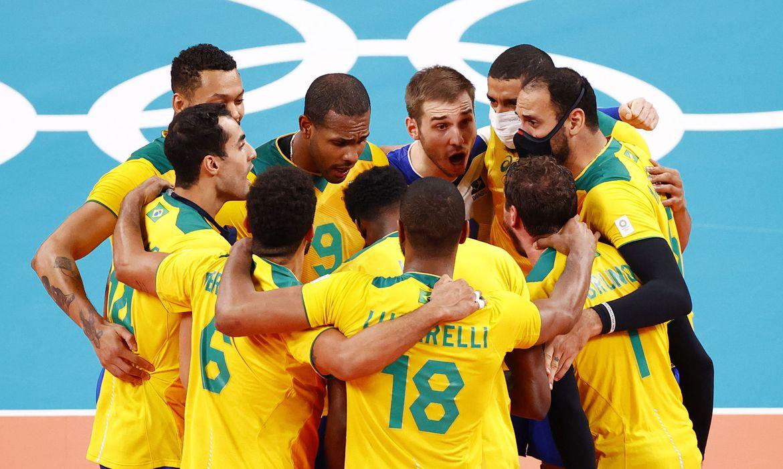 Vôlei: Brasil vence Argentina de virada, em duelo emocionante