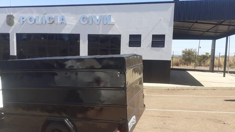 Polícia Civil recupera carretinha furtada em Taquaralto