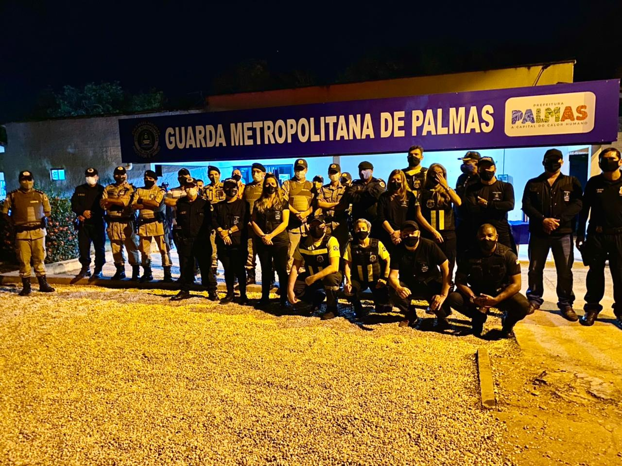 Operação Integrada encerra festa clandestina em Palmas e conduz quatro pessoas à delegacia