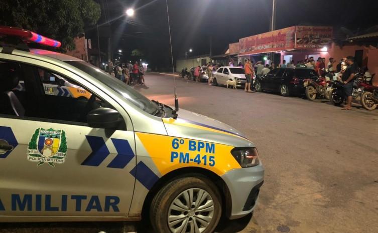 Polícia Militar intensifica policiamento no distrito de Taquaruçu