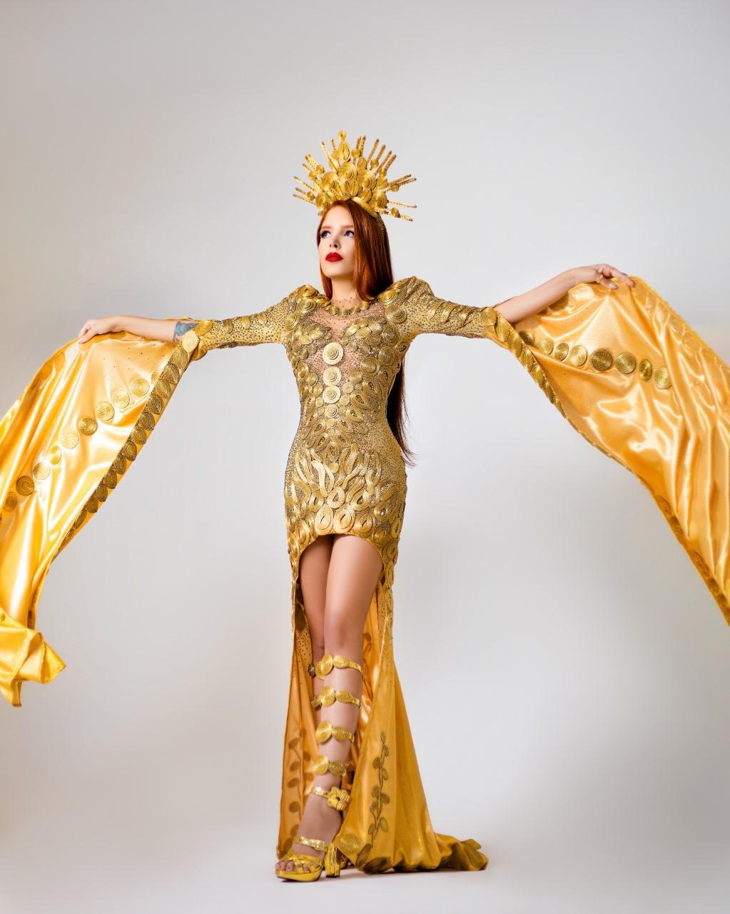 Com vestidos inspirados no Capim Dourado, estilistas tocantinenses revelam detalhes dos trajes da Miss Tocantins