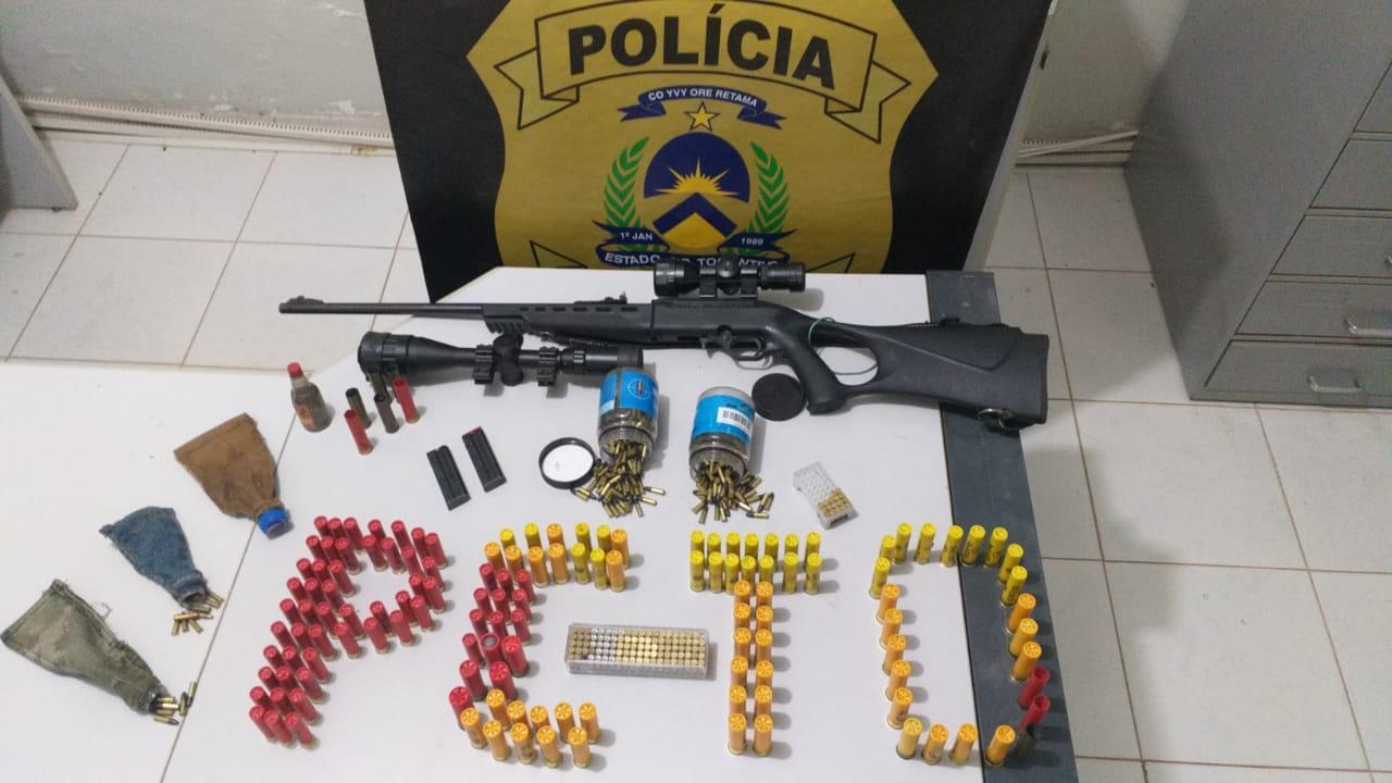 Polícia Civil apreende centenas de munições, arma de fogo e prende homem por tráfico de armas em Taguatinga