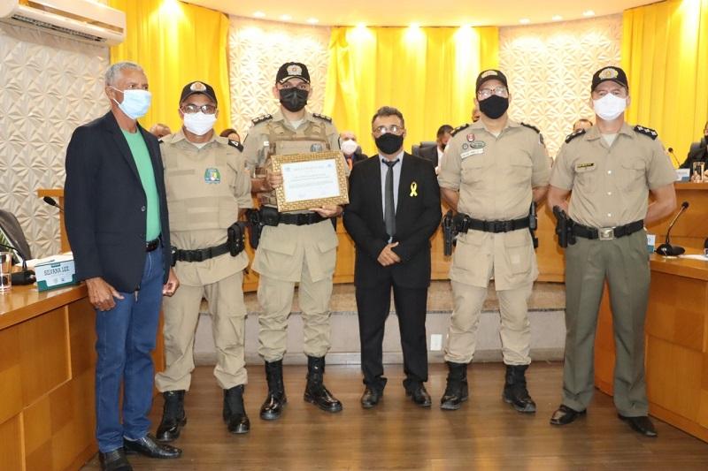 8º Batalhão da Polícia Militar recebe Moção de Aplausos em Paraíso-TO