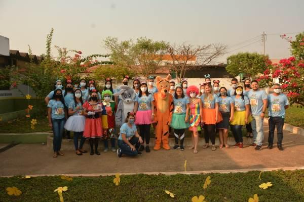 Assistência Social de Miranorte realiza caminhada da campanha Setembro Azul – ABC para a Primeira Infância