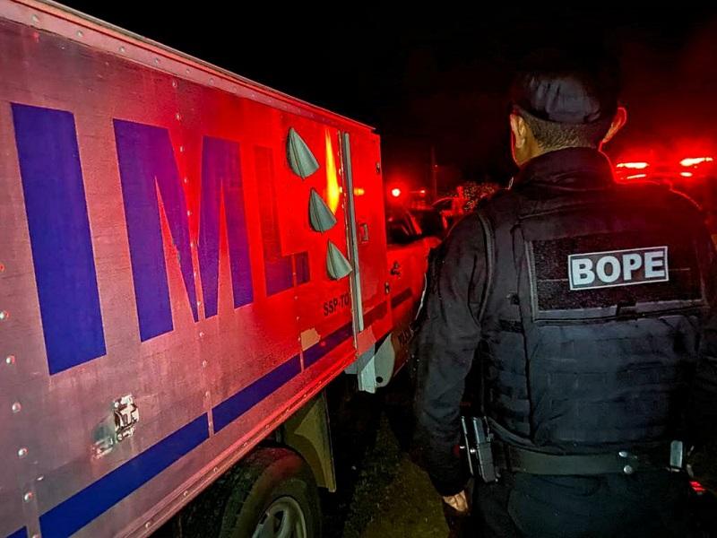 Suspeitos de tráfico disparam contra viatura do BOPE e são mortos após confronto em Divinópolis-TO