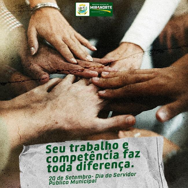 Prefeitura de Miranorte homenageia funcionários públicos pelo Dia do Servidor Municipal