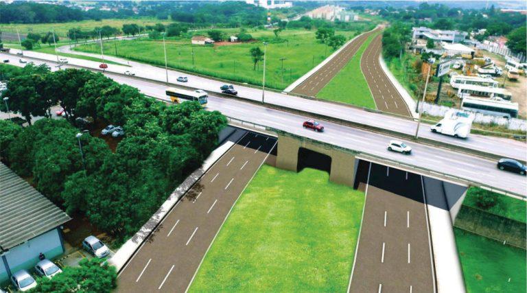 Inauguração do viaduto da Avenida Leste-Oeste acrescenta mais mobilidade à região do pólo da moda da capital