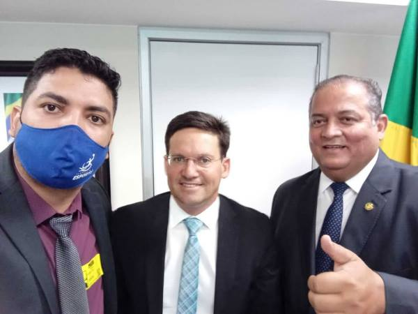 Secretário de Esportes de Pium cumpre agenda em Brasília em busca de recursos e parcerias