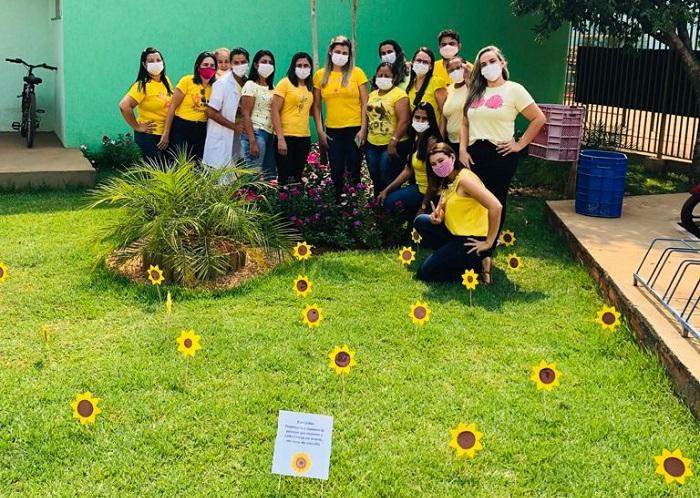 Secretaria de Saúde de Pium promove ação alusiva ao Setembro Amarelo