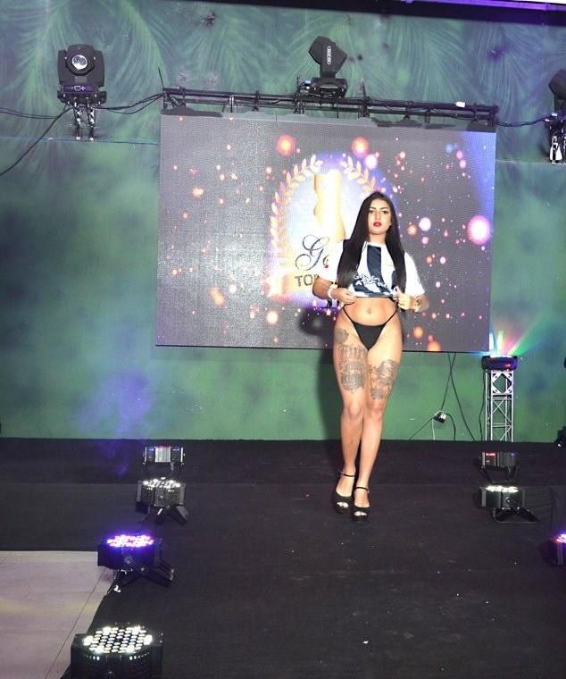 Tamara Goes arrasa com corpo escultural e concorre para ser Musa do Atlético-MG
