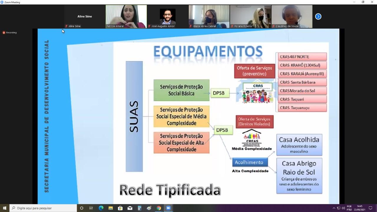 Câmara Técnica debate os serviços e os desafios da assistência social em Palmas