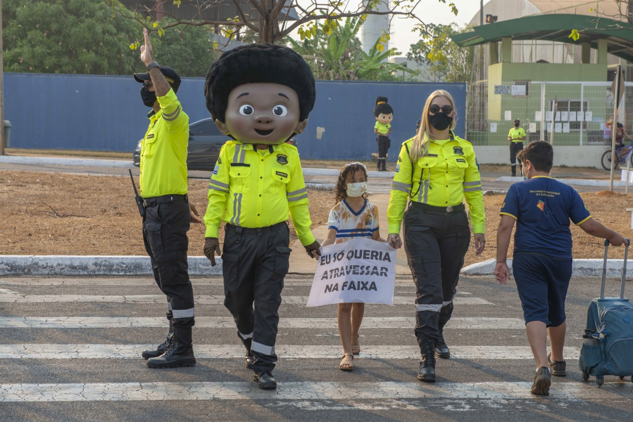 Semana do Trânsito começa em Palmas com ações de conscientização