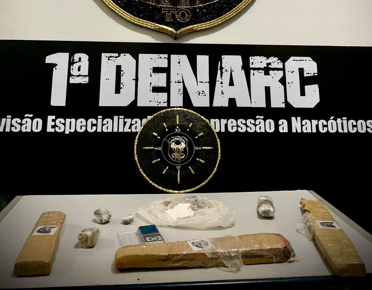 Polícia Civil desarticula tráfico de drogas na Praia da Graciosa; duas pessoas foram presas