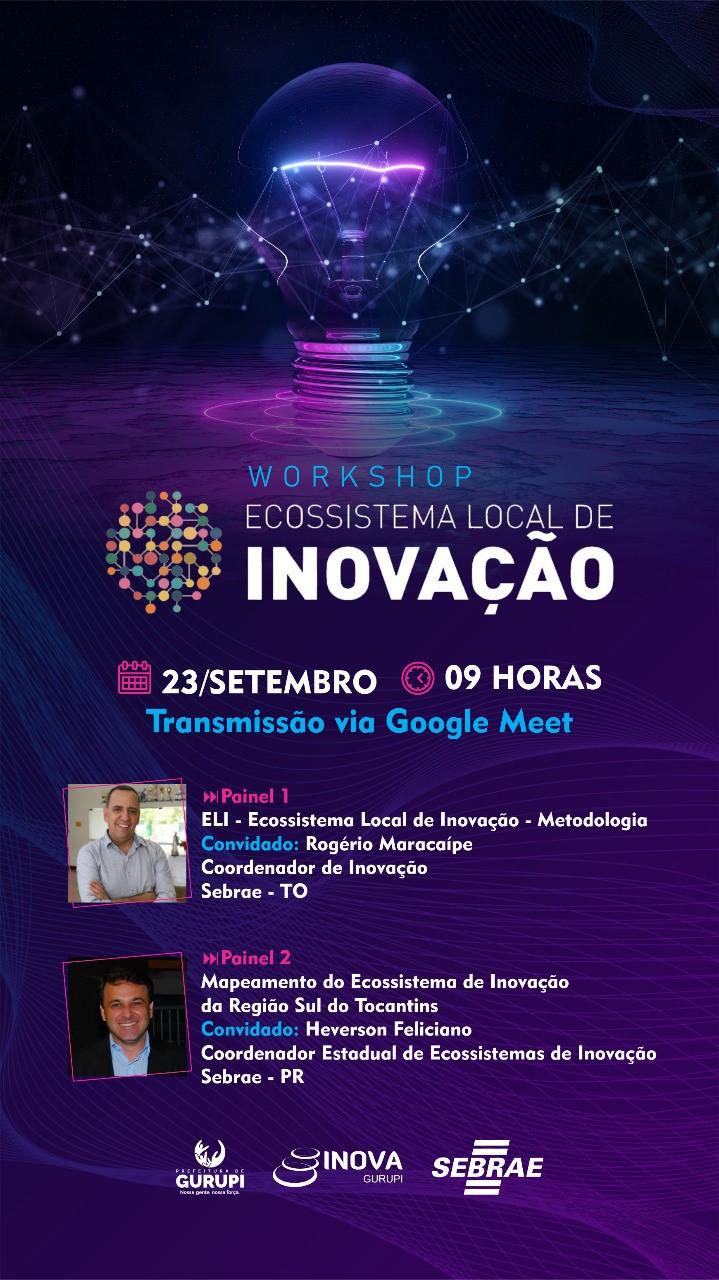 Parceria promove Workshop Ecossistema Local de Inovação
