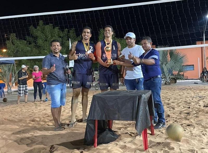 2º Torneio de Vôlei de Praia é promovido pela Prefeitura de Rio dos Bois