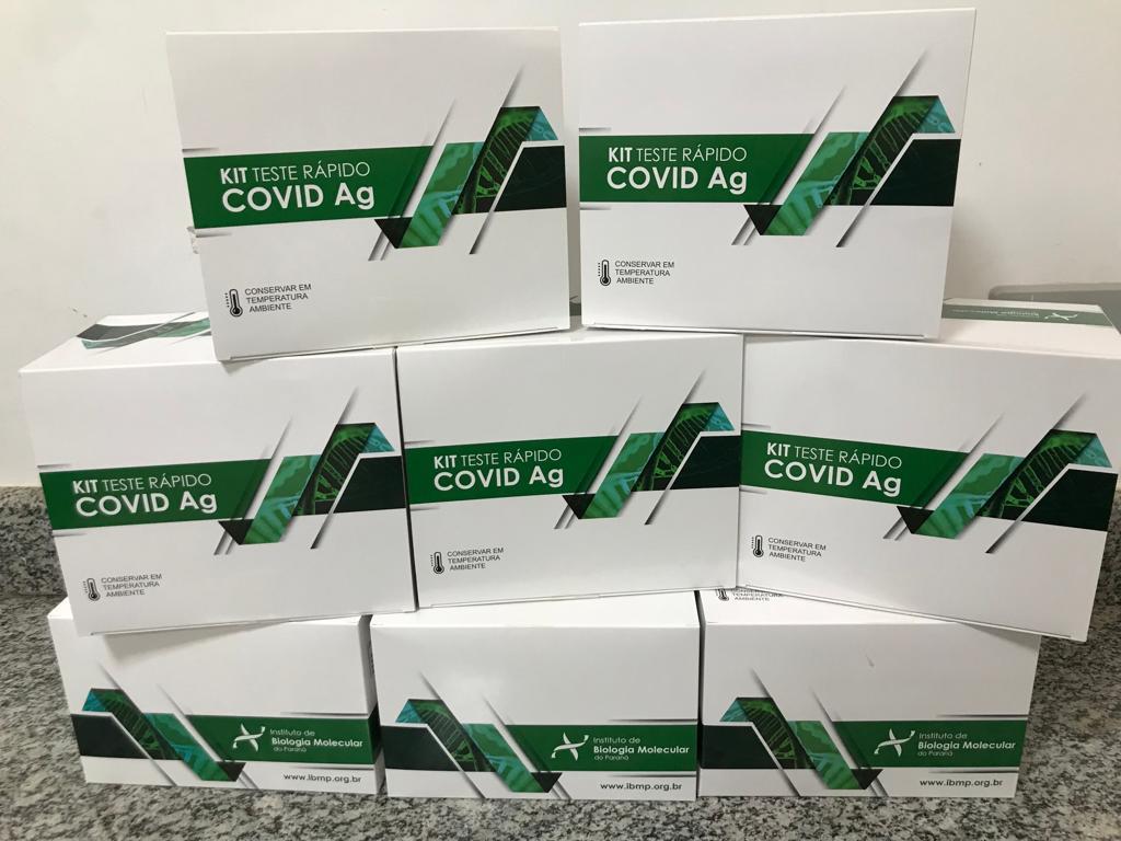 Governo do Tocantins convoca municípios a retirarem kits de testagem rápida para Covid-19