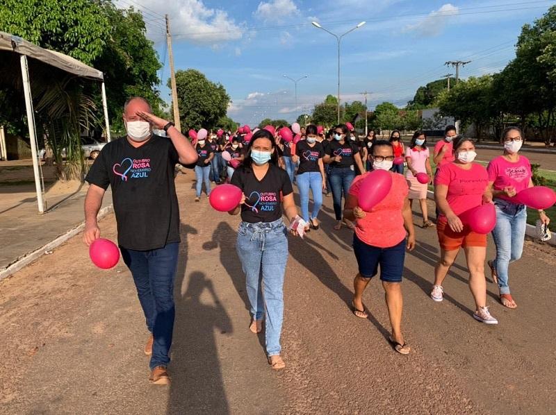 Divinópolis promove caminhada de conscientização do Outubro Rosa e Novembro Azul