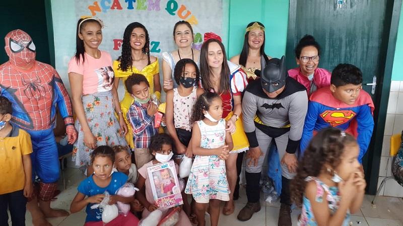 Prefeitura de Rio dos Bois leva projeto 'Criança tem que ser feliz' ao assentamento Paulo Freire II