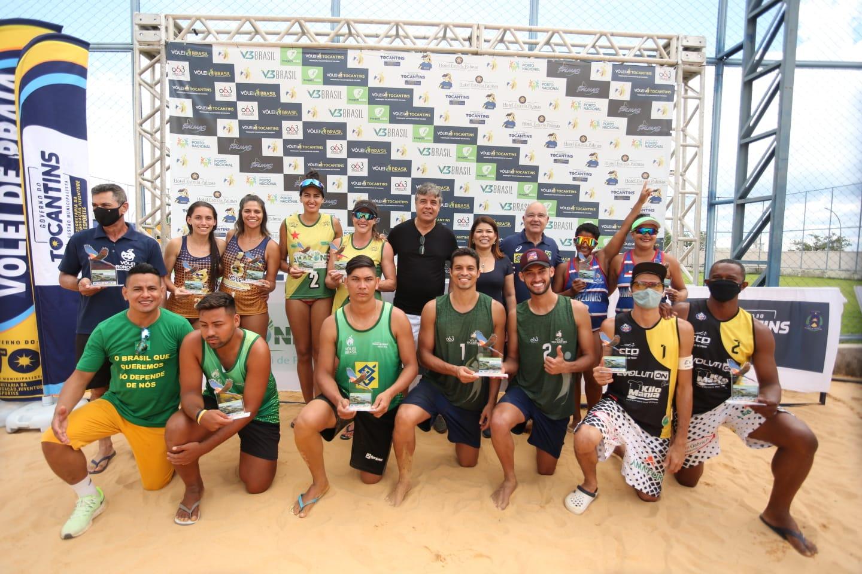 Definidos os campeões da última etapa do Circuito Amazônia de Vôlei de Praia 2021