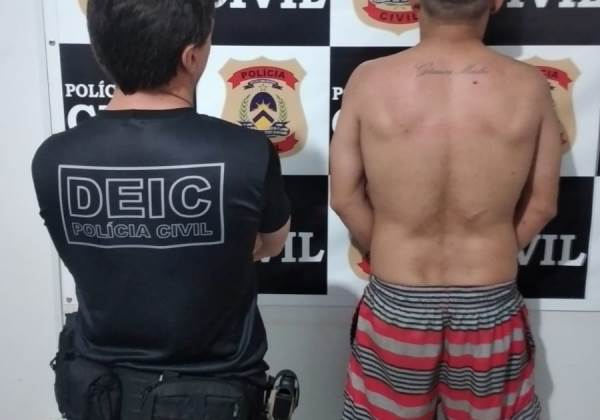 Homem é preso pela Polícia Civil em Araguaçu por estelionato e obstrução da Justiça