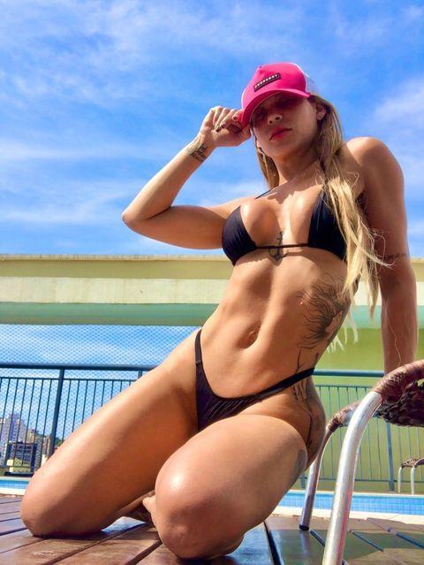 Jhenni Giovanelli revela lançamento de coleção fitness com sua marca própria