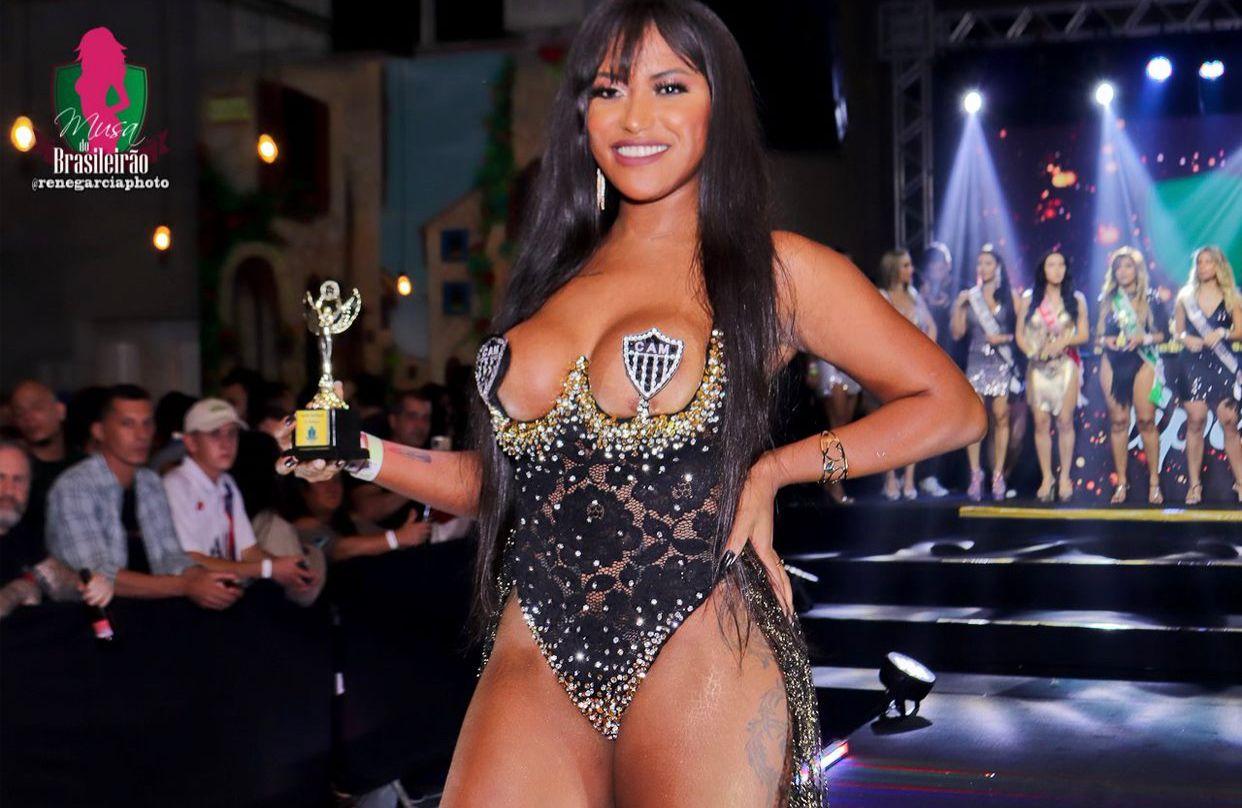 Jo Rodrigues é eleita Musa do Atlético-MG 2021