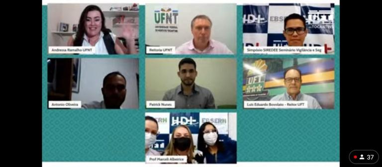Lançamento de e-book sobre a pandemia marca o encerramento do II SIREDEE e I SEVISP no HDT-UFT