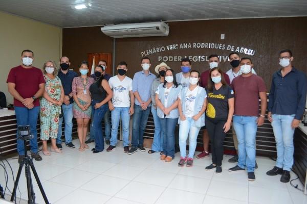 Natividade recebe equipe da Adetuc para processo de Inventariação Turística