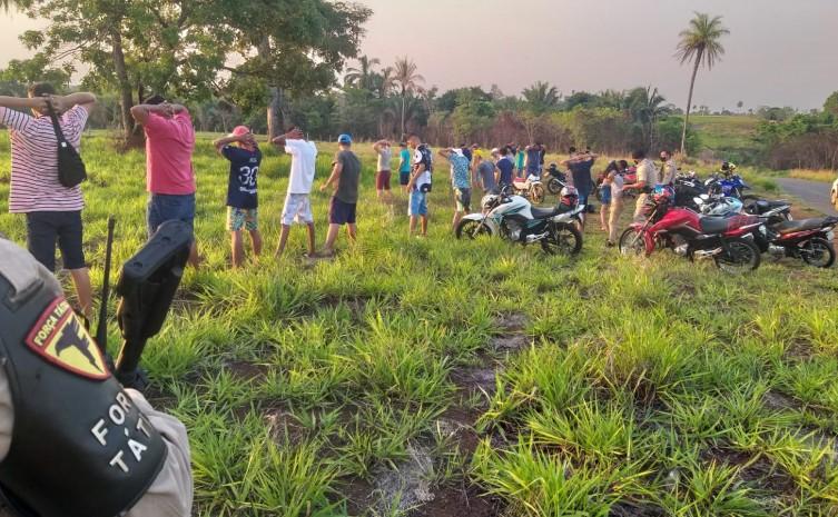 Exibição de manobras perigosas é interrompida pela Polícia Militar em Araguaína