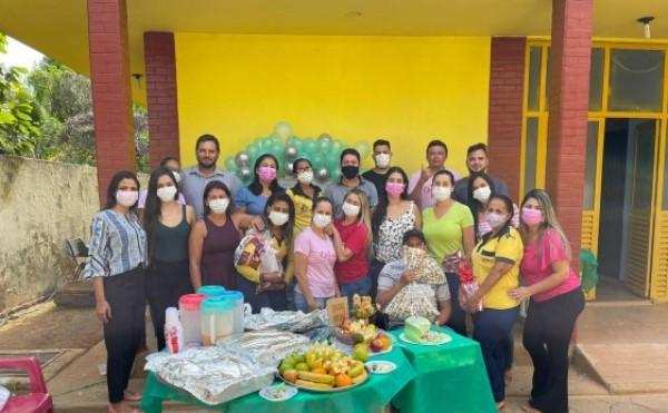 Prefeitura de Barrolândia promove café da manhã para agentes de saúde e endemias