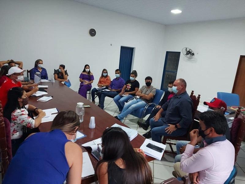 Prefeito e secretários de Divinópolis-TO realizam 2ª reunião para elaboração do PPA