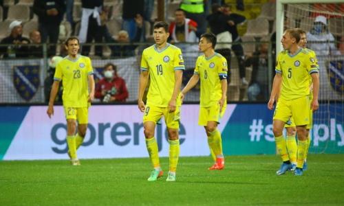 Seleção da Copa do Mundo fracassada pelo Cazaquistão