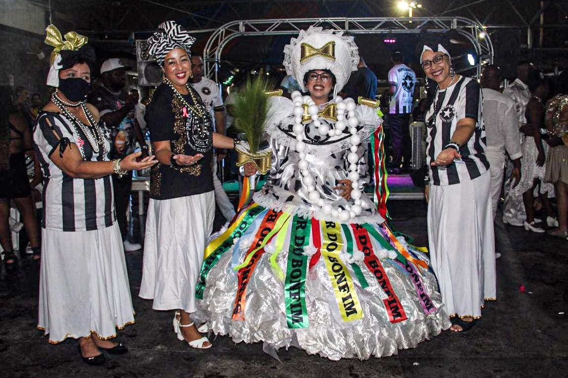 Em evento, Botafogo Samba Clube apresenta protótipos para o carnaval 2022