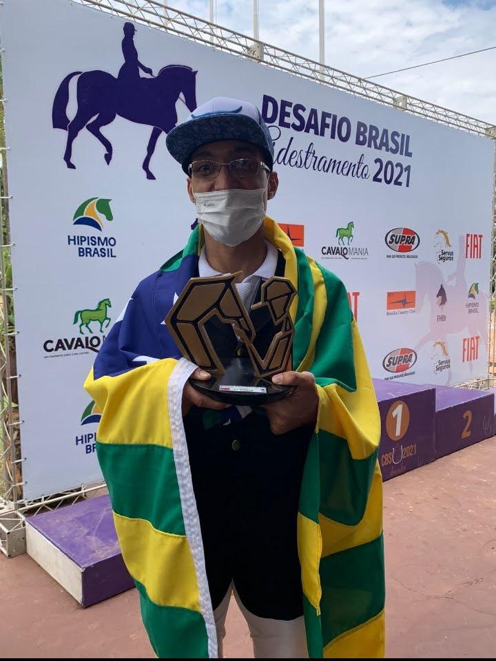 De Jussara, primeiro atleta paraequestre de Goiás disputa vaga para mundial da Dinamarca