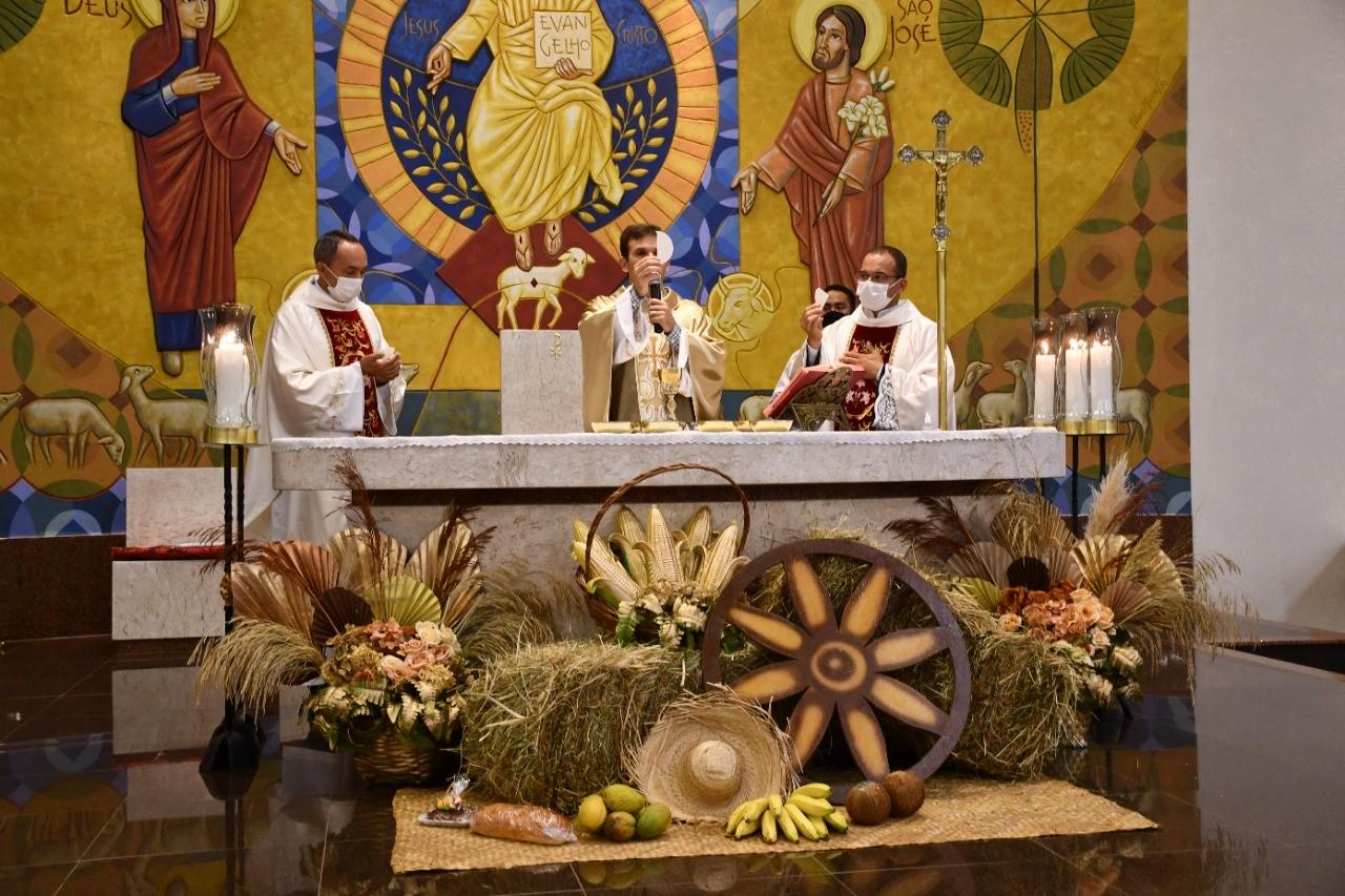 Prefeitura de Paraíso promove 8ª Festa do Produtor Rural, com Missa celebrado pelo Padre Patrick Fernandes