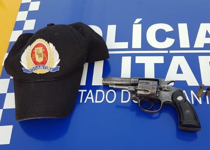 4ª CIPM prende homem por porte ilegal de arma de fogo em Lagoa da Confusão