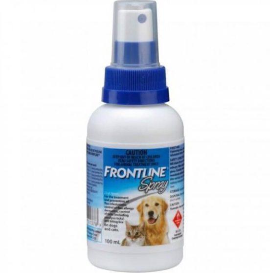 Thuốc xịt tiêu diệt ve chó, rận Frontline Spray 100ml – Sản phẩm của Pháp