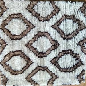 Hexa Modern-Persian Cut Brown