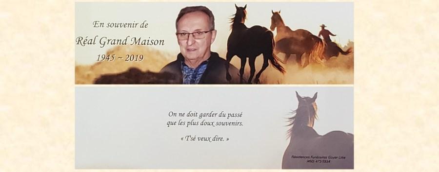 Bannière Réal Grand-Maison 2019-10-11