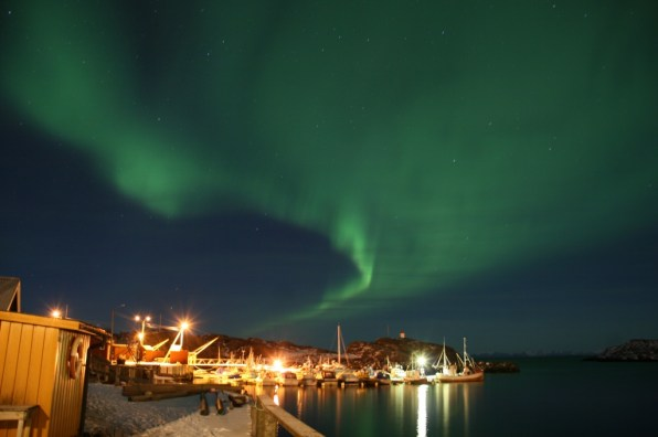 Stamsund, Lofoten, Norway, avril 2012